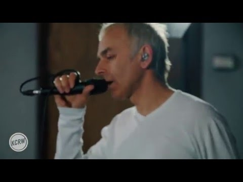 "Underworld performing ""I Exhale"" Live on KCRW"