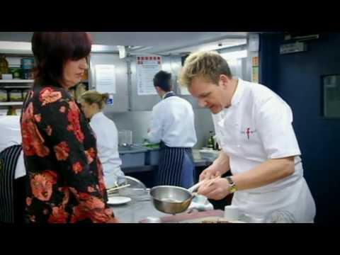 Janet Street-Porter recipe challenge on The F Word