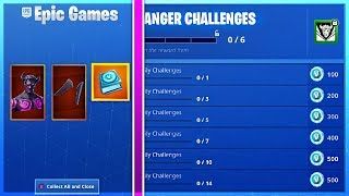 How To Get FALLEN LOVE RANGER CHALLENGES and FREE VBUCKS GUIDE in Fortnite!