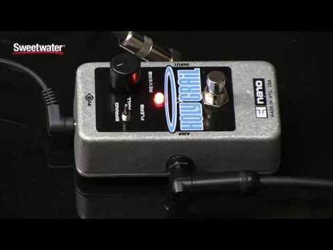 Electro-Harmonix Holy Grail Nano Reverb Pedal Review By Sweetwater Sound
