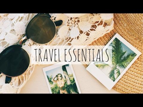 TOP 10 TRAVEL ESSENTIALS | Tess Florio