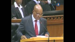 President Jacob Zuma responds to SONA debate