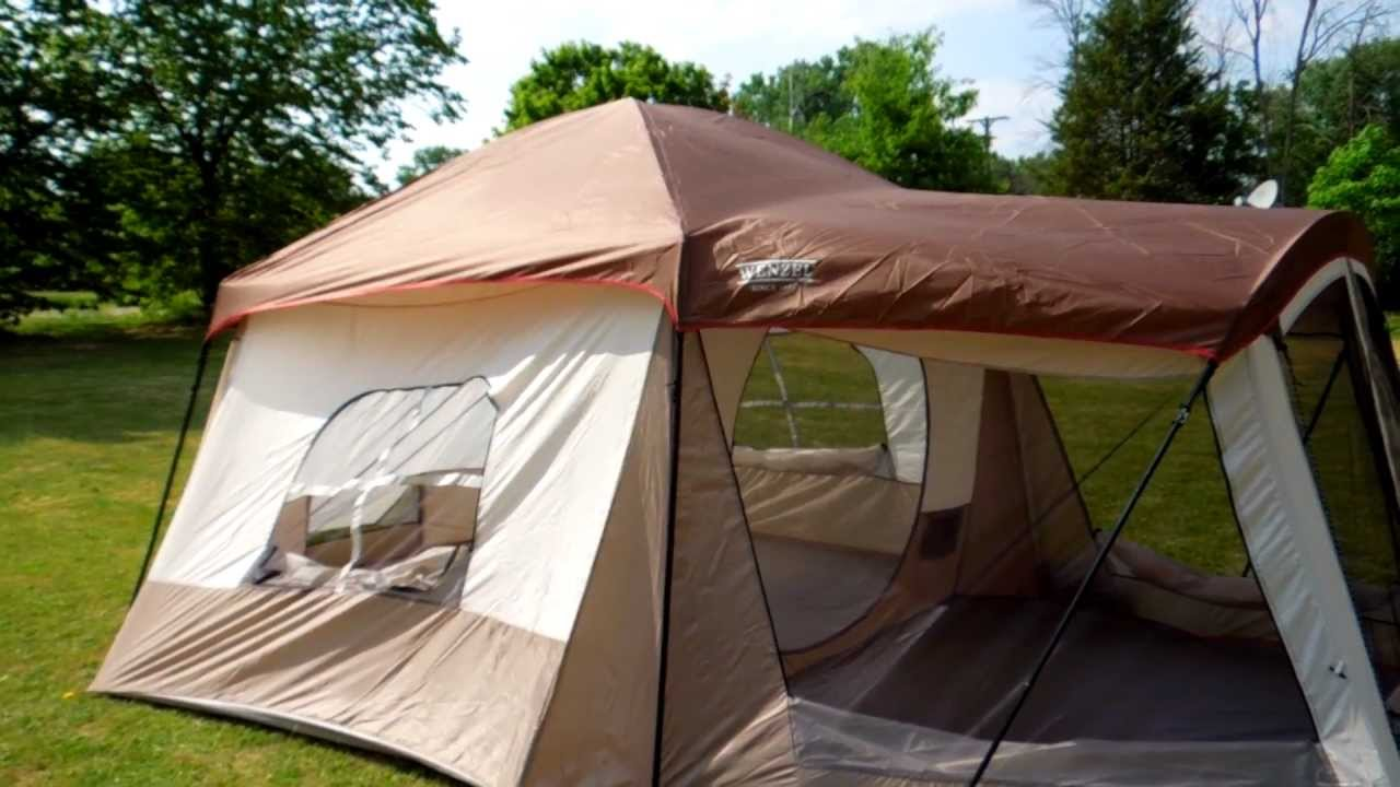 & Wenzel Klondike Tent Review (Part 2) 1080P - YouTube