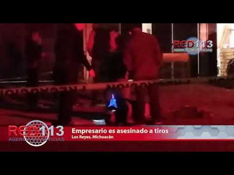 VIDEO Empresario es asesinado a tiros en Los Reyes