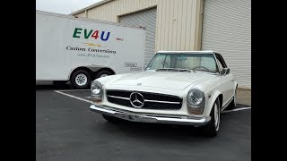 Electric Conversion Wrap Up of the 1964 Mercedes 230SL