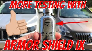 More testing with Armor Shield IX Ceramic Paint Coating on Daily Drivers