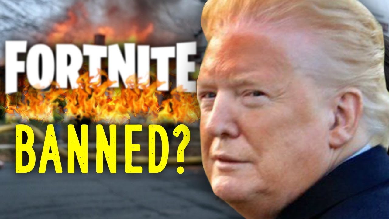 Donald Trump Twitter Fortnite Is Trump Banning Fortnite Inside Gaming Daily Youtube
