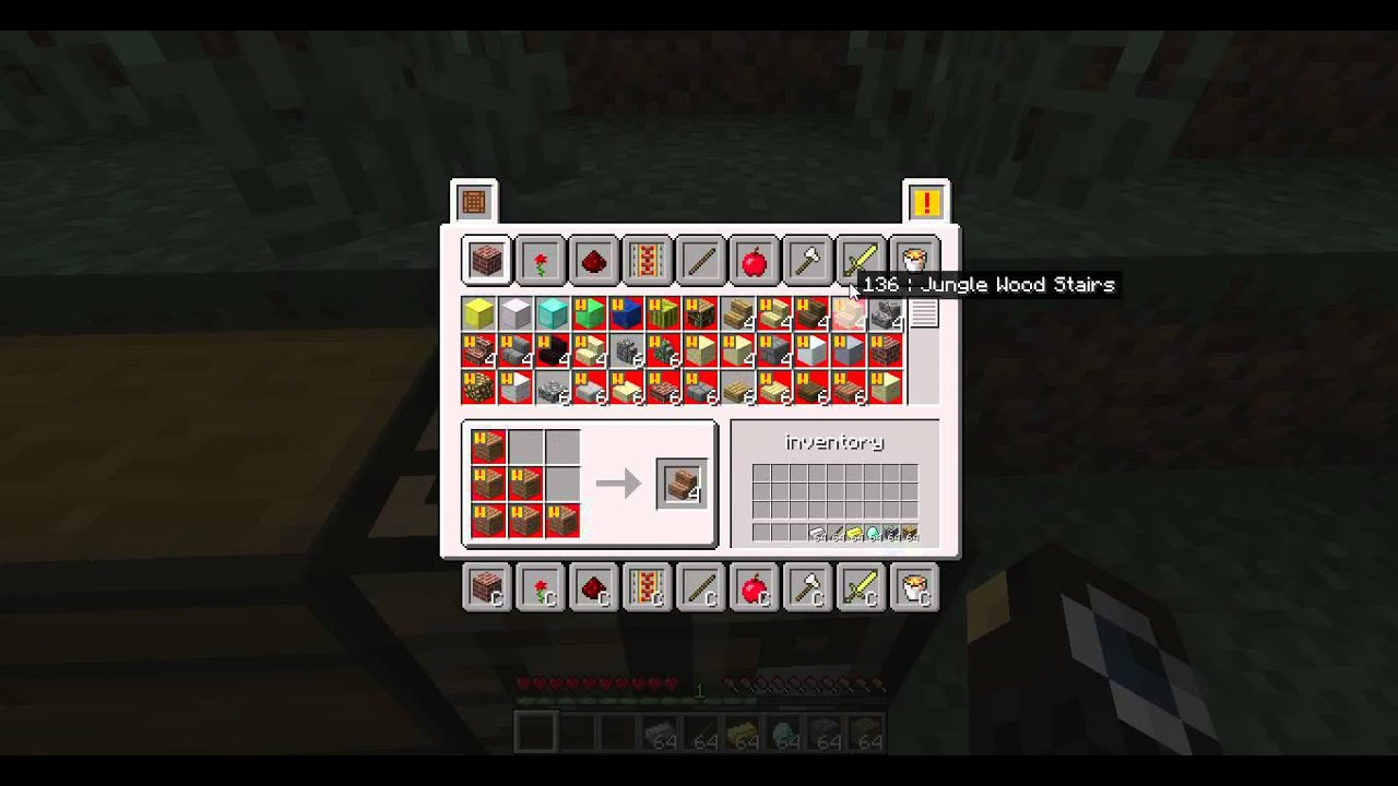 Minecraft Pc Crafting Menu