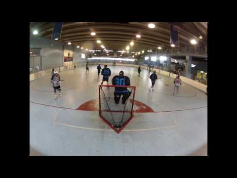 GoPro Box Lacrosse Goalie Highlights - PBLA 7.13.16