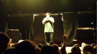 """Big B, """"Sinner"""" - Kaos & Kronik Tour, Stage AE, Pittsburgh, PA (April 22nd, 2012)"""