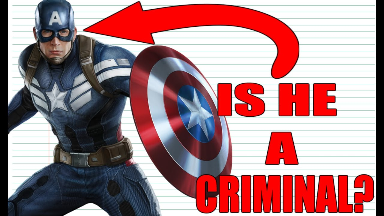 Civil War: Is It LEGAL To Be A Superhero?