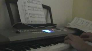 """""""As I Survey The Wondrous Cross"""" on piano ~ TheClassicRockKid95"""