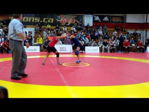 2015 Canada Cup: 53 kg Josee Tremblay (CAN) vs. Kristina McLaren (CAN)