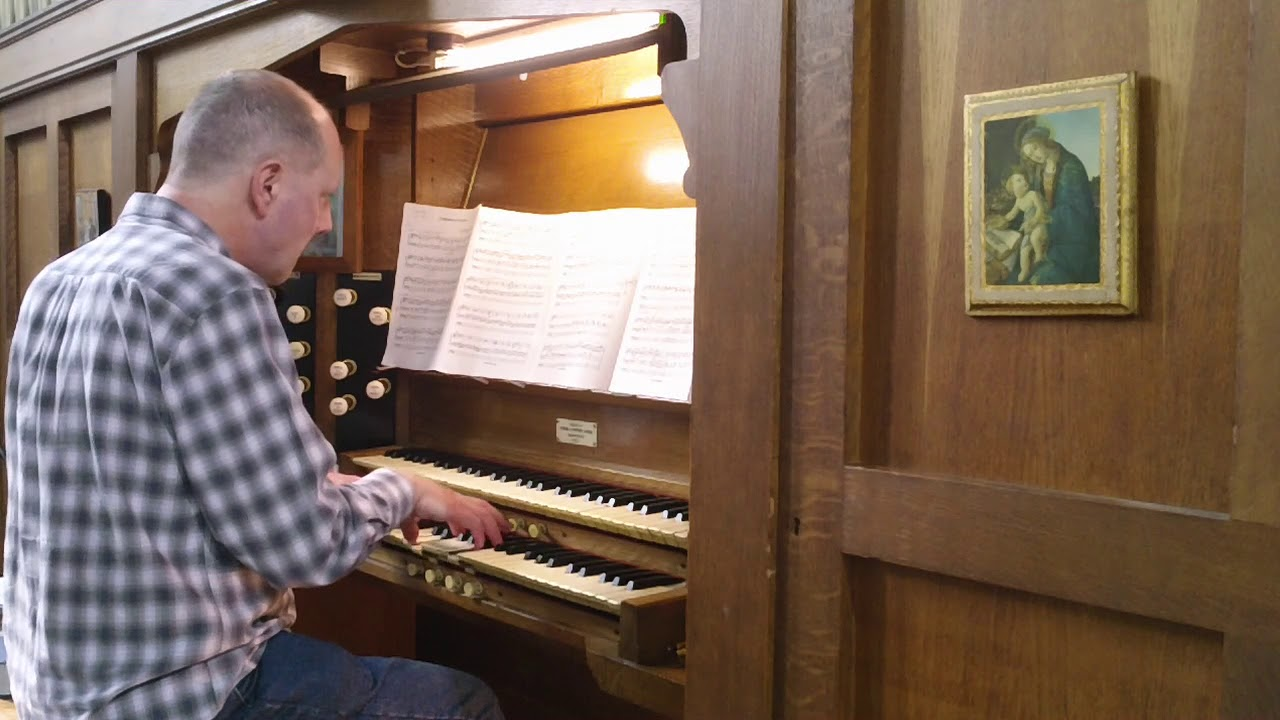 Andante with Variations pour orgue