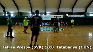 Handball. U17 boys. Sarius cup 2017. Tatabanya KC (HUN) - Tatran Presov (SVK) - 10:15 (2nd half)