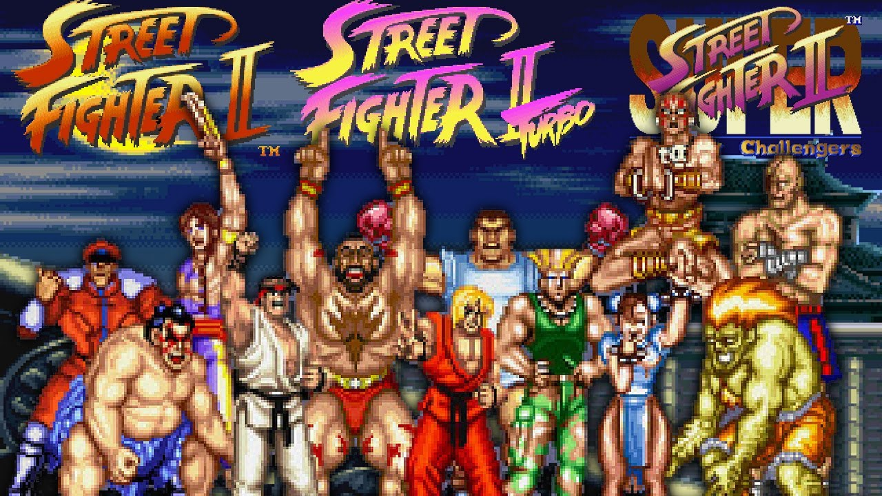 Street Fighter II - 16 Bits, 15 Bouts - YouTube