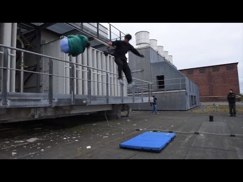 Watch This Cameraman Perform His Own Epic Stunts To Film Parkour
