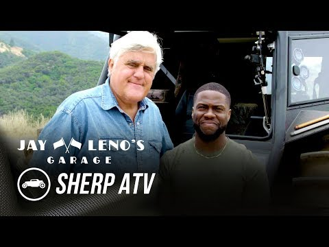 Kevin Hart Rides In A SHERP ATV | Behind The Scenes - Jay Leno's Garage
