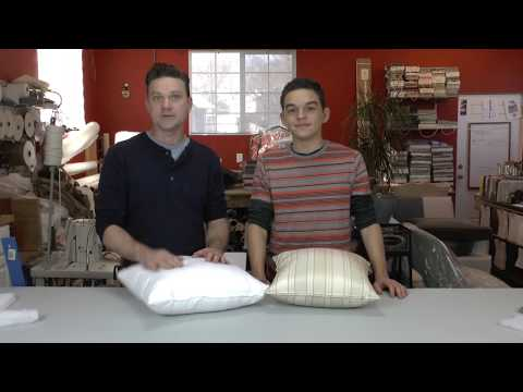 How to Make Poly Filled Throw Pillow Inserts
