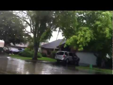 Severe Flooding in Coral Springs, Florida