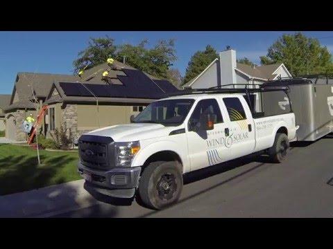 Largest Utah Solar Panel Installation Company - IWS