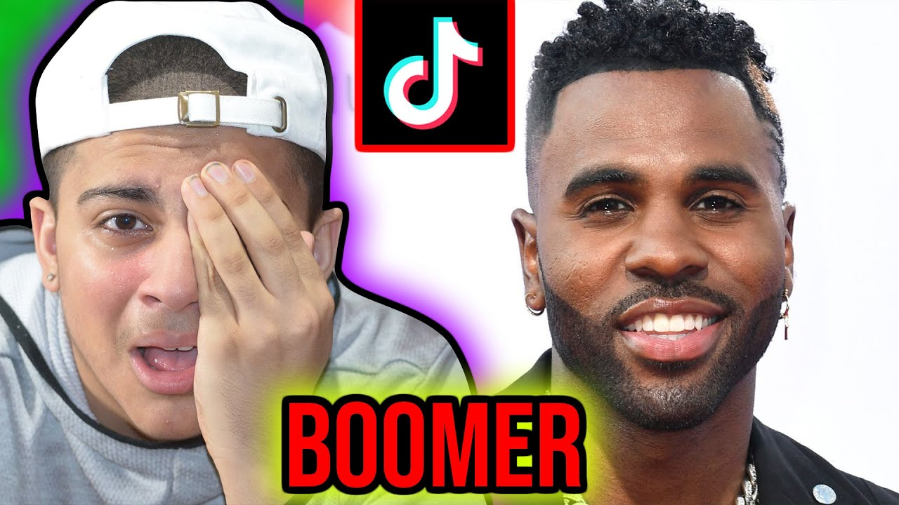 Is Jason Derulo too *OLD* for TikTok ? (BOOMER)🤣