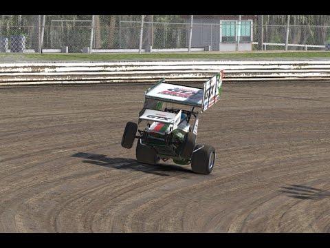 Iracing Dirt Gameplay Volusia Speedway Park Dirt Sprint Car