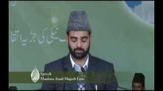 Jalsa Salana Qadian 2013 Maulana Ataul Mujeeb Sahib Lone Muballigh silsilah Dawat Ilallah