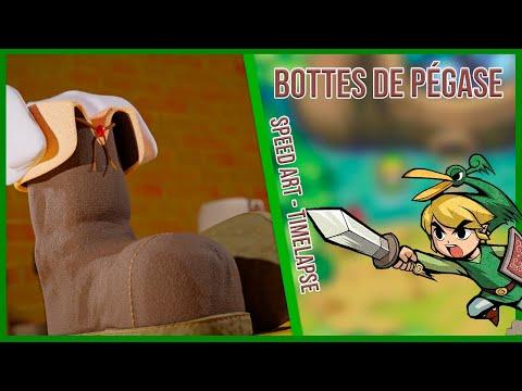Bottes de Pégase - Zelda Minish Cap - SPEEDART