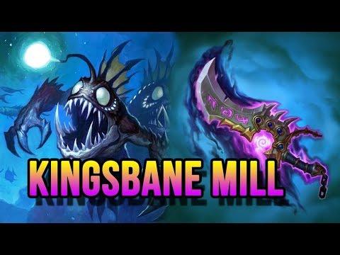 HEARTHSTONE DECKLIST #107 : KINGSBANE MILL ROGUE