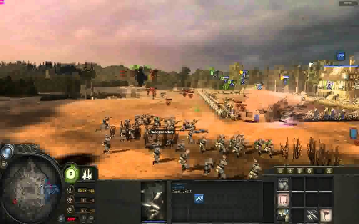 The Battle Of The Alamo Reenactment On Coh Youtube