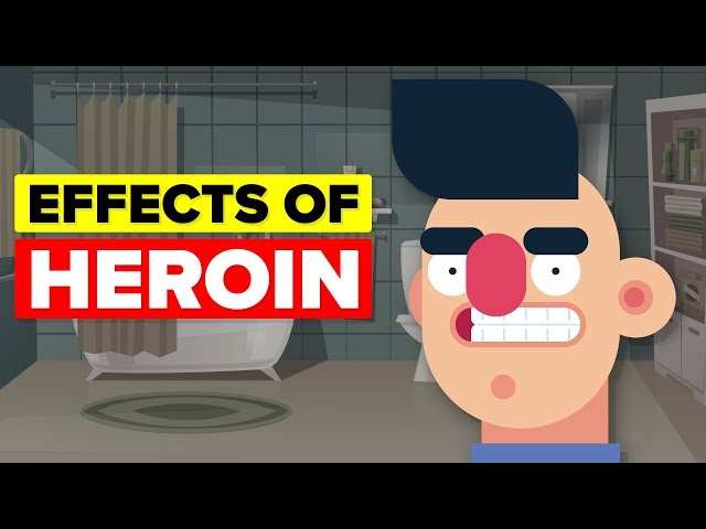 heroin affects on body and brain Hallucinogenic drugs like heroin can affect the body and brain the effects of heroin addiction are heart palpitations, blurred vision, severe headaches, insomnia etc the individual may also begin to have hallucinations or illusions due to the extensive use of heroin.