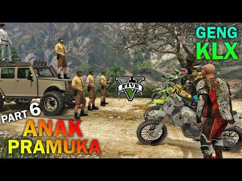 TAWURAN!! Geng Motor VS Anak Pramuka - GTA 5 REAL LIFE (6) KOCAK