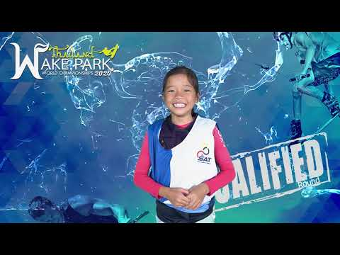 Bhraebhim Pipatsawaddhi - Girls Under 13 yo Wakeboard