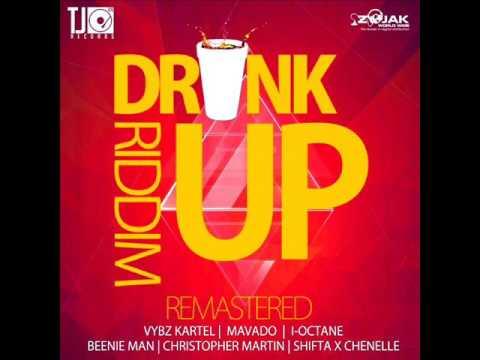 Drink Up Riddim Mix (Remastered) Feat. Mavado, Chris Martin, Vybz Kartel (TJ Records) (May 2017)
