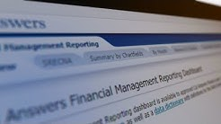 Cal Answers Financial Management Reporting Dashboard