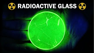 Making radioactive uranium glass