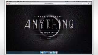Gambar cover Anything for Google Chrome Tutorial Movie(for Mac)