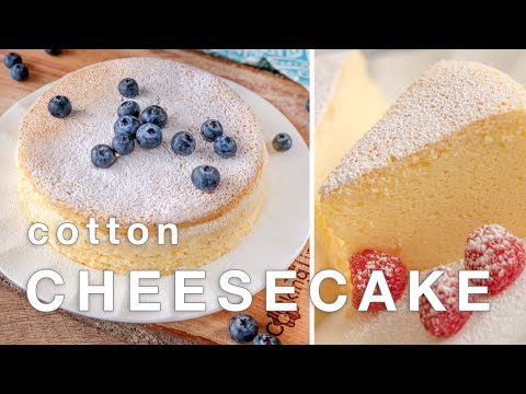 Cotton Cheesecake Recipe | How To Make Japanese Cheesecake Better Than Uncle Tetsu