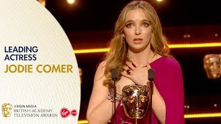 Jodie Comer wins Leading Actress  BAFTA Awards 2019