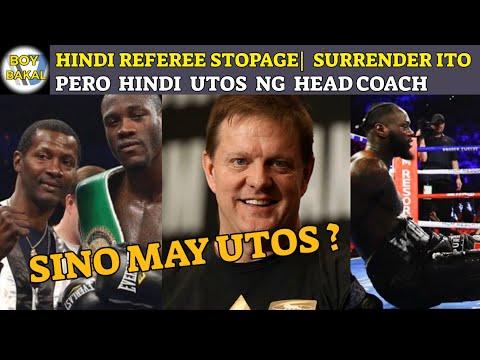 Deontay Wilder Isang  Surrender Ang Pagkatalo PERO HINDI Utos Ng HEAD COACH | SINO?