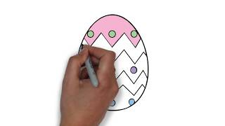 How to draw a Toy Egg -  How to draw funny cartoons