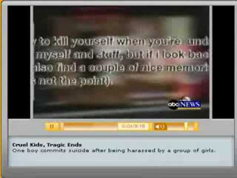 ABC News  Bullying story Halligan