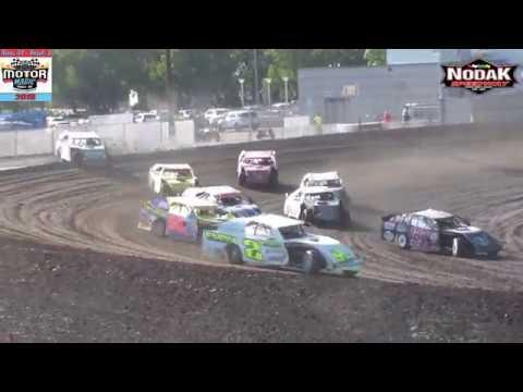 Nodak Speedway IMCA Sport Mod Heats (Motor Magic Night #2) (9/2/18)