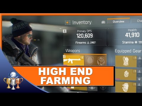 The Division - High End Loot & Phoenix Credit Farming (How To Get The Best Gear, Weapons & Mods)