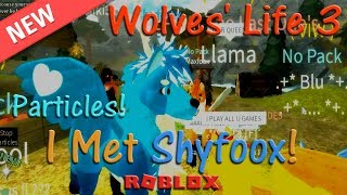 Roblox - Wolves' Life 3 - Particles & Shyfoox! - HD
