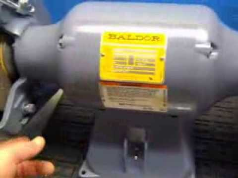 Baldor 8250w Bench Grinder 44752 Youtube. Baldor 8250w Bench Grinder 44752. Wiring. Baldor 8 Bench Grinder Wiring Diagram At Scoala.co