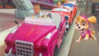Игрушки Щенячий Патруль Алина идет в Детский Парк Видео для детей Paw Patrol toys play in kids park