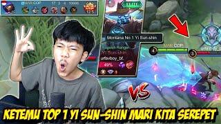 LAGI PUSH MMR ALDOUS KETEMU TOP 1 YI SUN SHIN MARI KITA SEREPET - Mobile legends