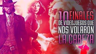 10 FINALES de VIDEOJUEGOS que nos VOLARON LA CABEZA